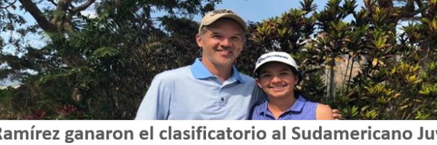 Lucía y José Ramírez ganaron el Clasificatorio al Sudamericano Juvenil