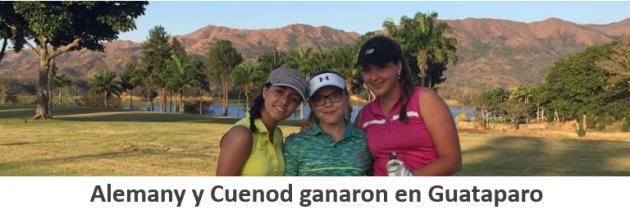 Alemany y Cuenod ganaron en Guataparo