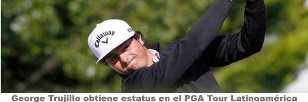 Trujillo con estatus condicional para el PGA Tour Latinoamérica