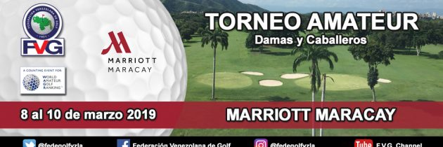 Torneo Amateur Marriott  Maracay