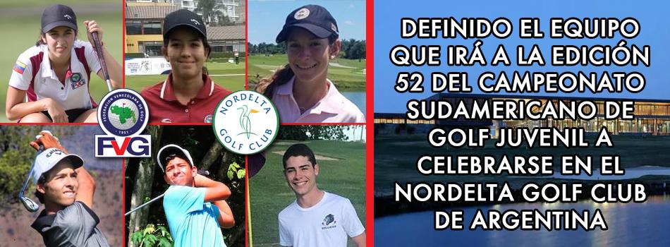 Definido el equipo para el Sudamericano Juvenil