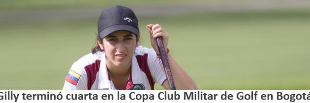 Vanessa Gilly quedó cuarta en el Torneo Internacional Infantil y Juvenil Club Militar de Golf