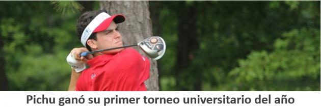 Pichu ganó en su primer torneo universitario del año