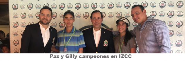 Paz y Gilly campeones en IZCC
