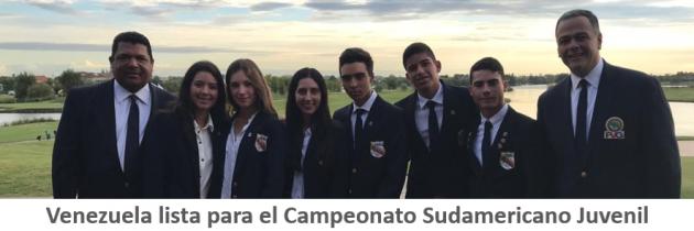 Venezuela lista para el Sudamericano Juvenil