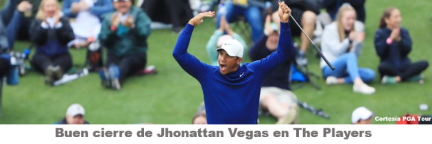 Excelente remontada de Jhonattan Vegas en The Players