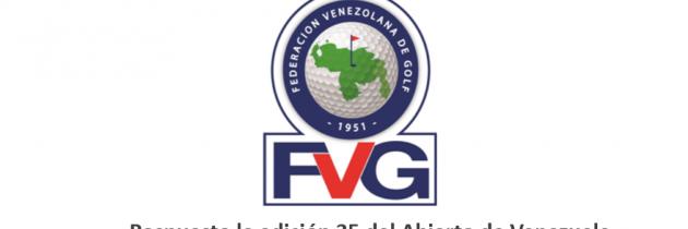 Pospuesto el Abierto de Venezuela 2019