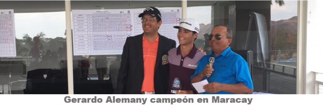 Gerardo Alemany se titula en Maracay