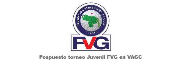 Pospuesto Torneo Juvenil VAGC