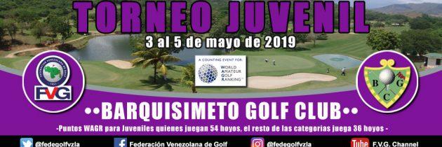 Torneo Juvenil Barquisimeto Golf Club