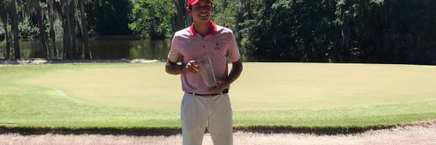 Leopoldo Herrera campeón en la AJGA