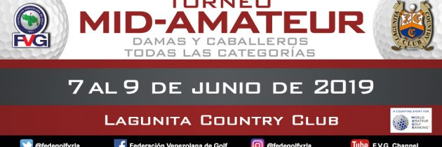 Torneo Mid Amateur  Lagunita Country Club