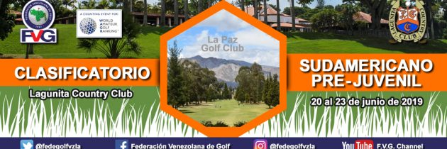 Clasificatorio Sudamericano Pre-Juvenil Lagunita Country Club