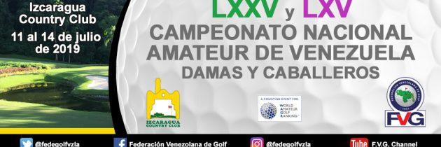 Campeonato Nacional Amateur de Venezuela Izcaragua Country Club