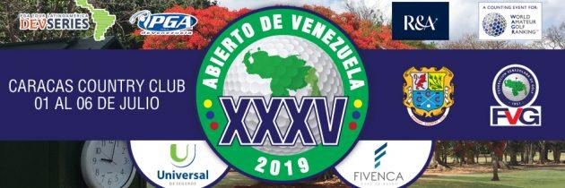 Torneo Abierto de Venezuela 2019 Caracas Country Club
