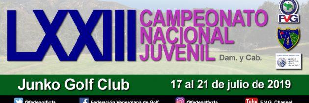 LXXIII Campeonato Nacional Juvenil Junko Golf Club