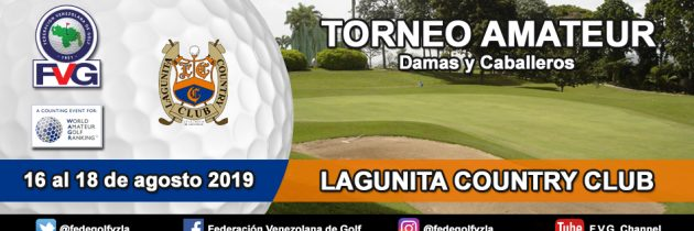 Torneo Amateur  Lagunita Country Club
