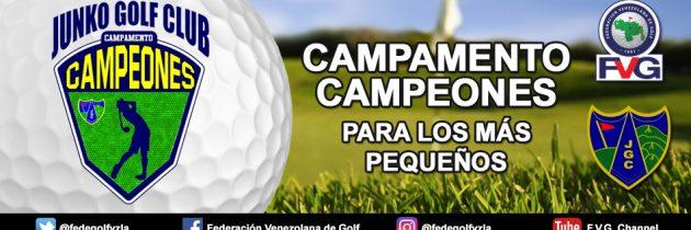 Junko Golf Club ofrece campamento de golf para los más pequeños
