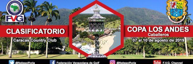 Clasificatorio Copa Los Andes Caballeros