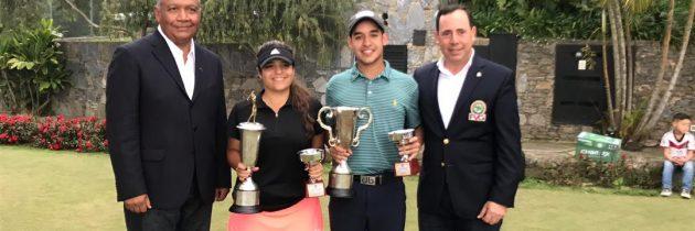 Gabriel Restrepo y Claudia Perazzo campeones juveniles