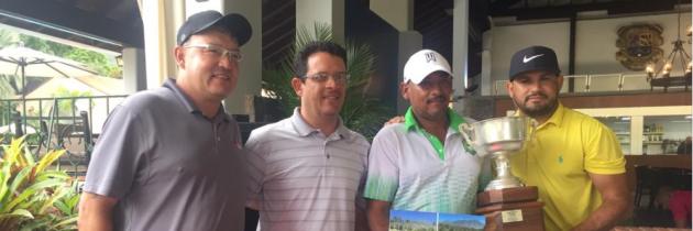 Luis Colmenares gana el Torneo de Caddies en el Abierto de Venezuela