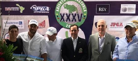 Equipo de George Trujillo resulta ganador en el ProAm del XXXV Abierto de Venezuela