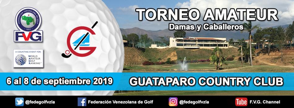 Torneo Amateur Guataparo Country Club