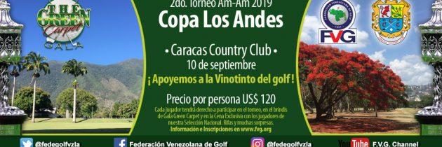 2do Torneo Am-Am 2019 Copa Los Andes Caracas Country Club