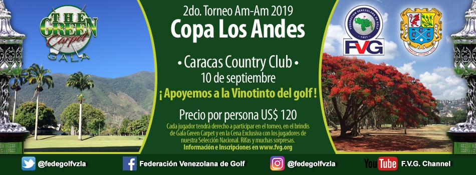 2do Torneo Am-Am 2019 Copa Los Andes Caracas Country Club.