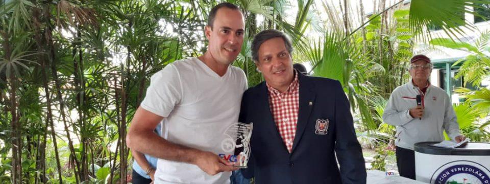 Raúl Sanz campeón en Lagunita Country Club