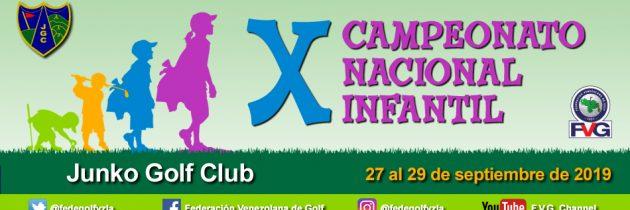 X Campeonato Nacional Infantil Junko Golf Club