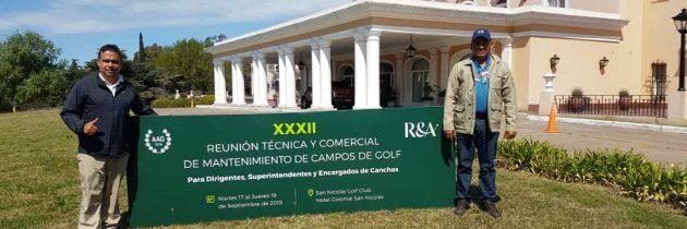 Venezuela presente en la Reunión Técnica y Comercial de Mantenimiento de Campos de Golf