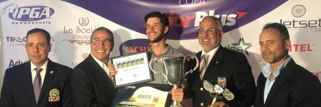 Manuel Torres campeón en Abierto de Lagunita