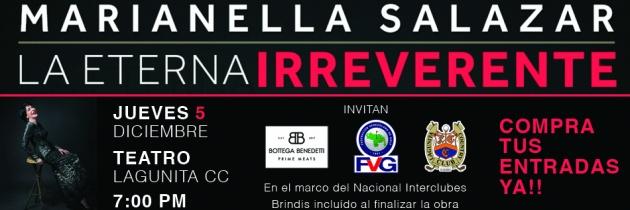 FVG invita a disfrutar de «La Eterna Irreverente»