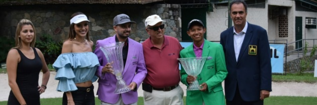 Denis Meneghini y Amauriel Fernández ganan el Abierto Sambil