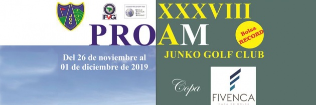 XXXVIII PRO AM  Junko Golf Club