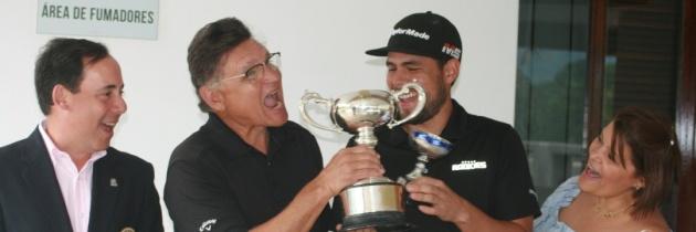 Miró y Santiago Quintero campeones del Nacional Padre & Hijos