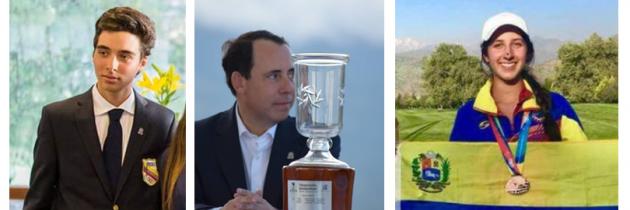 Cuatro postulados por el golf a premios «Atleta del Año»