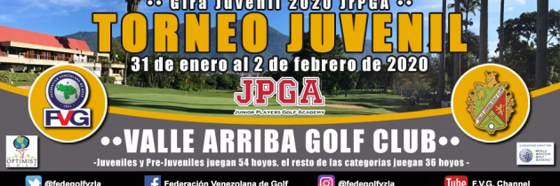 Torneo Juvenil Valle Arriba Golf Club-Gira JrPGA