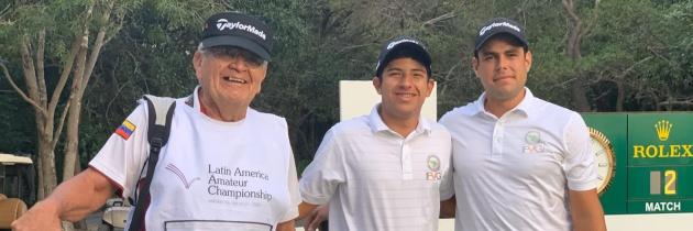 José Miguel Ramírez y Santiago Quintero tuvieron buena actuación en el LAAC