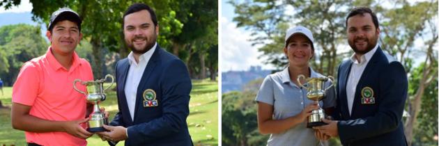 José Miguel Ramírez y Lucía Ramírez clasifican al Sudamericano Juvenil
