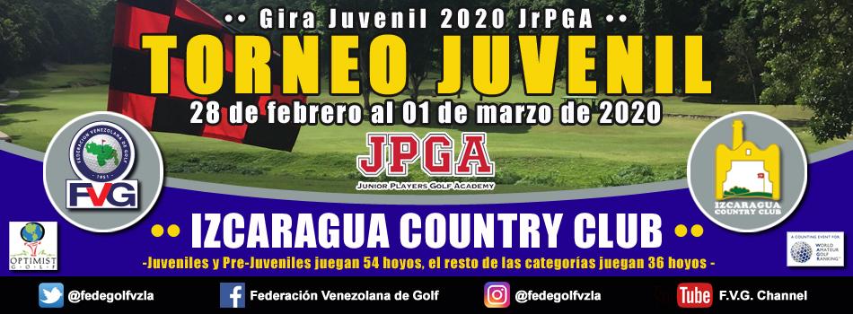 Torneo Juvenil Izcaragua Country Club-Gira JrPGA