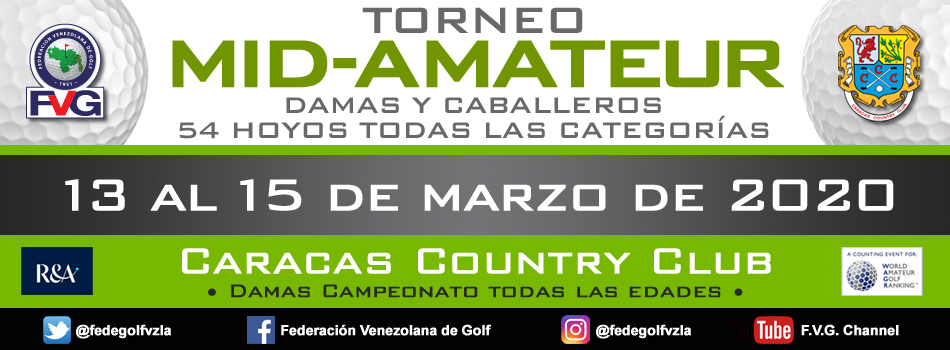Torneo Mid Amateur Caracas Country Club