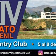 LXXIV Campeonato Nacional  Juvenil Guataparo Country Club