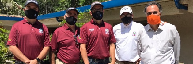 Izcaragua se viste de gala para el regreso del golf