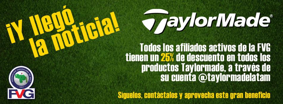 TaylorMade ofrece descuentos a afiliados