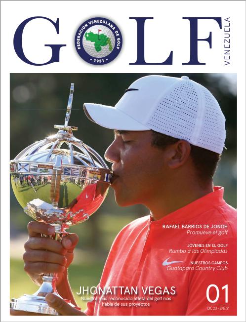 Federación Venezolana de Golf presenta la Revista Golf Venezuela