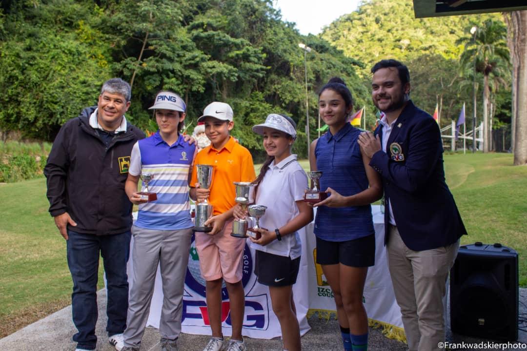 Golf venezolano culmina el año con nuevos campeones