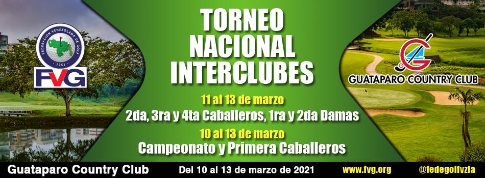 Torneo Nacional Interclubes se disputará en Guataparo