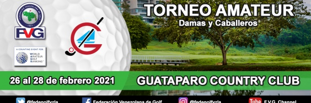 Listos para el Torneo Amateur Guataparo Country Club